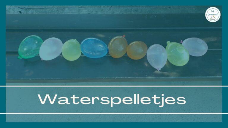 waterspelletjes